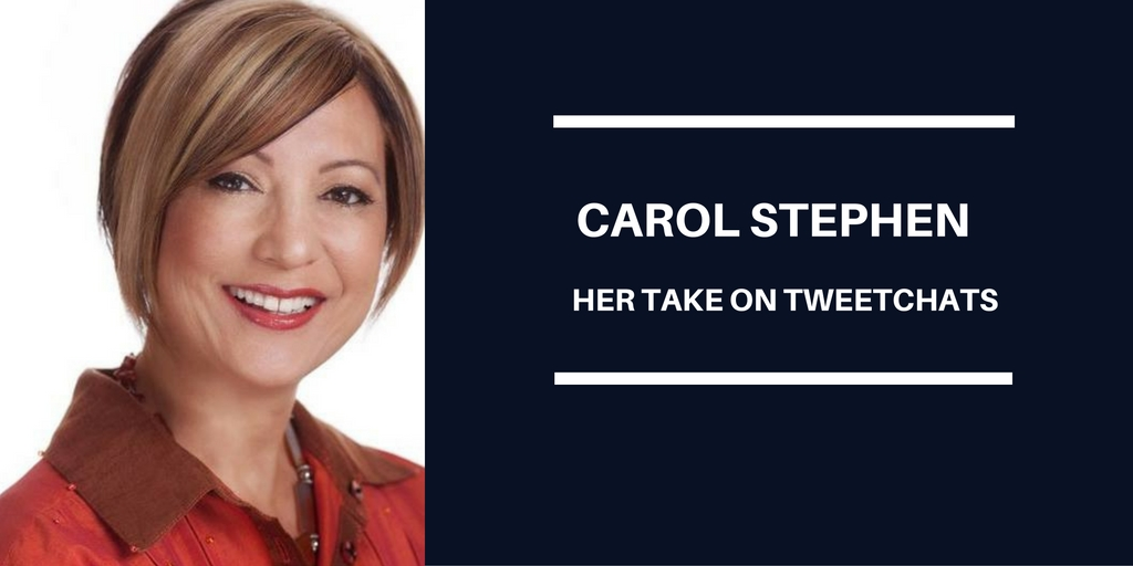 Carol Stephen & Her Take On TweetChats