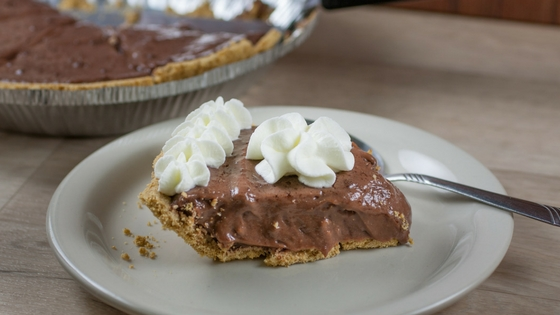 Chocolate Pie - Going Rogue From Whole30